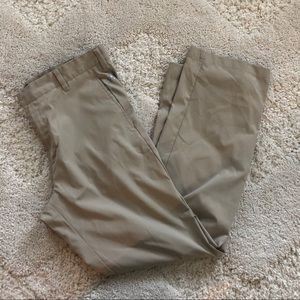 Adidas khaki Golf Pants, 36x32. EUC